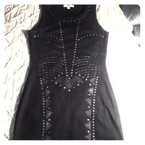 Ya Los Angeles Lil black dress with accents